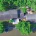 Sus vecinos le tomaron por loco, pero fue el único que logró salvar su casa