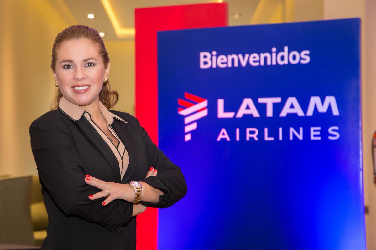 """María Fernanda Villacís: """"Latam fue pionera en dar servicios tecnológicos"""""""