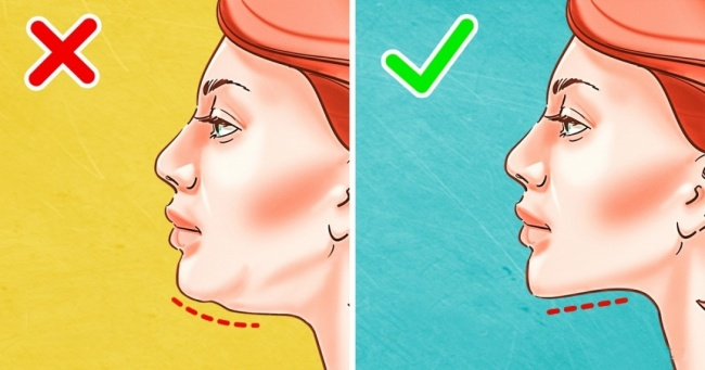 how get rid of a double chin in a few weeks