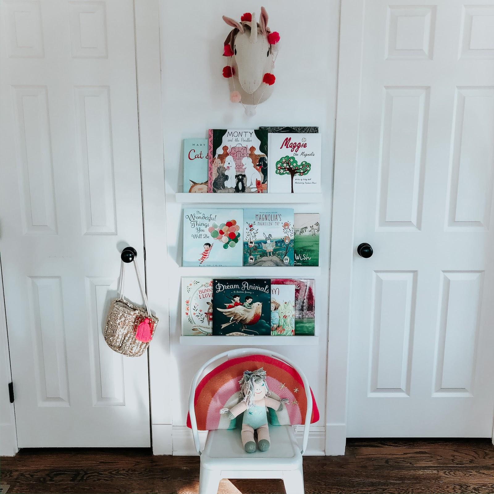 Magnolia's Playroom & Our Current Favorite Books