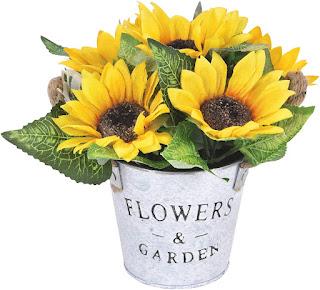 sunflower wedding table decoration