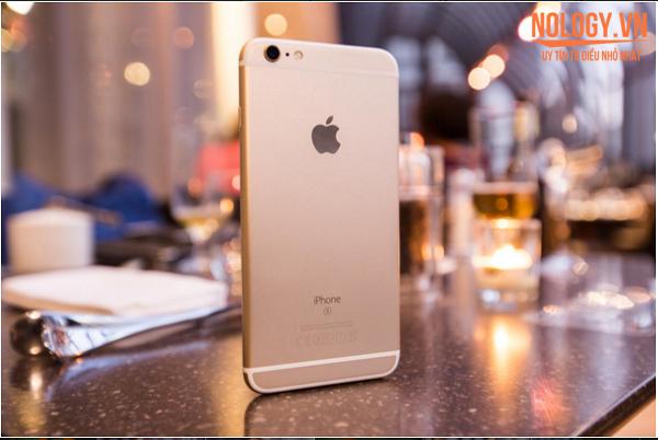 Mặt sau của iphone 6s plus cũ