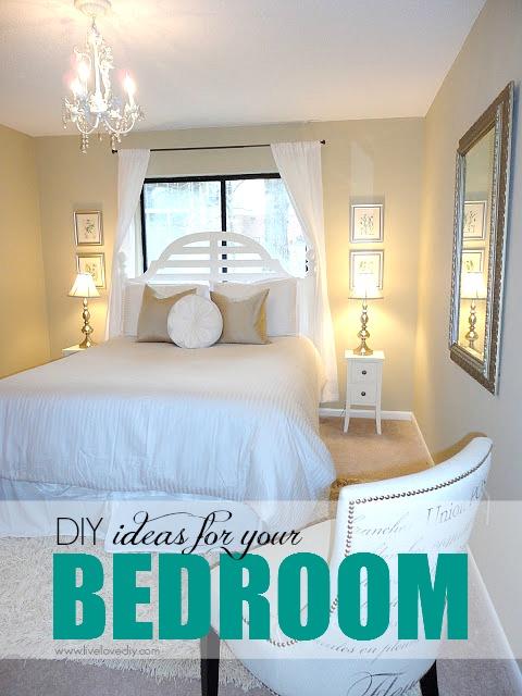 gallery for > diy home decor ideas bedroom