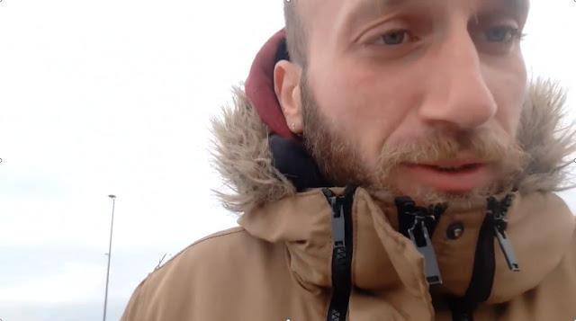 Δραματική έκκληση Ναυπλιώτη εγκλωβισμένου στα σύνορα Αυστρίας (βίντεο)