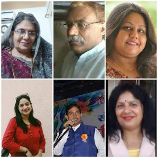 हृदयांगन संस्था की काव्य प्रतियोगिता में दो वरिष्ठ साहित्यकारों ने निभाई निर्णायक की भूमिका #NayaSaberaNetwork