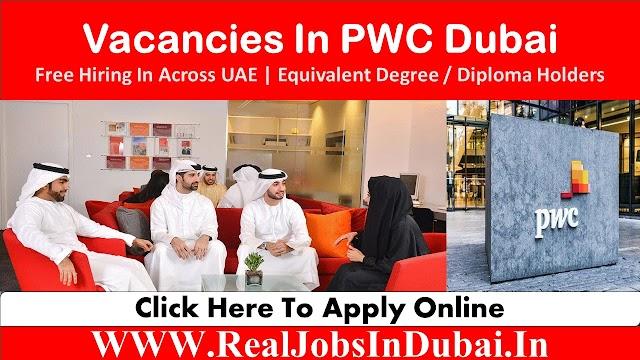 PWC Careers Jobs Vacancies In Dubai  - 2020