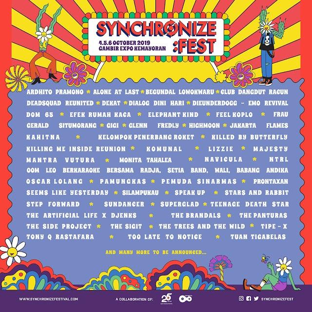Sepercik Cerita Dari Synchronize Fest 2019 Part 1