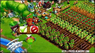 FarmVille 2: Country Escape,pigs, machines, farm, river, white bridge