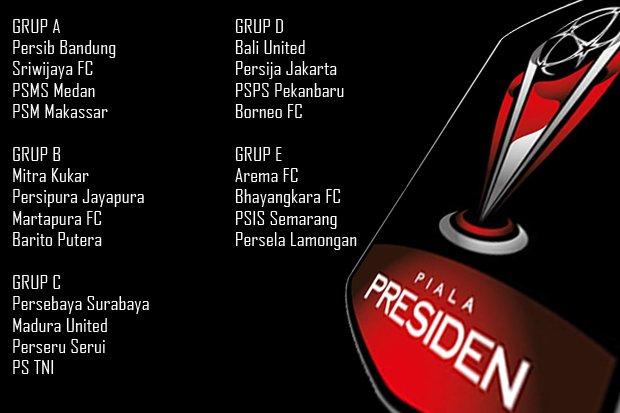 Piala Presiden Terbaru 2018