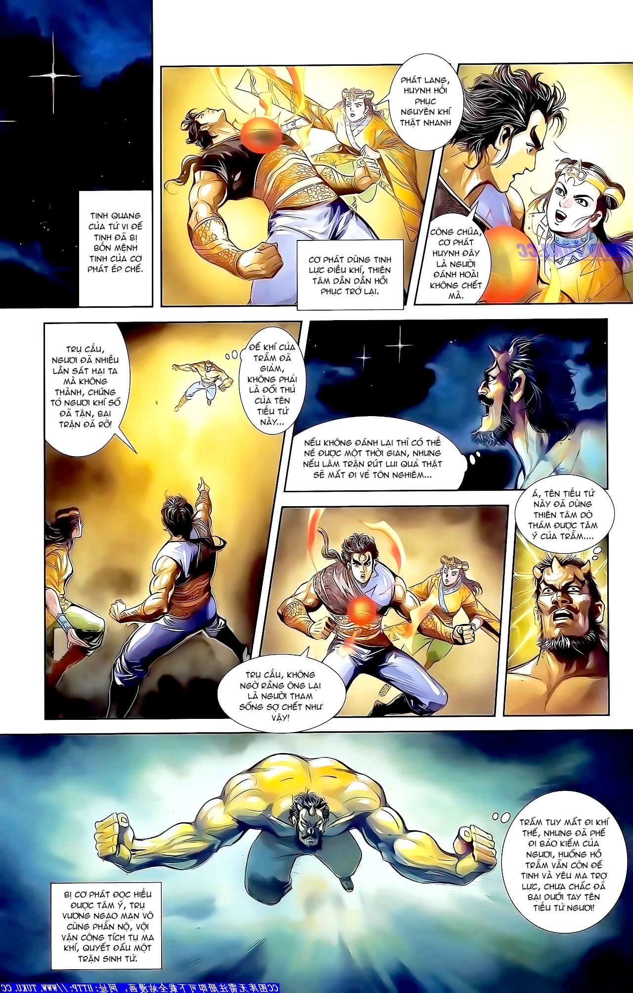 Cơ Phát Khai Chu Bản chapter 163.1 trang 7
