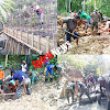 TNI-Polri  dan Masyarakat Sipil Bersatu Sukseskan Pra TMMD Reguler ke 102 di Selayar