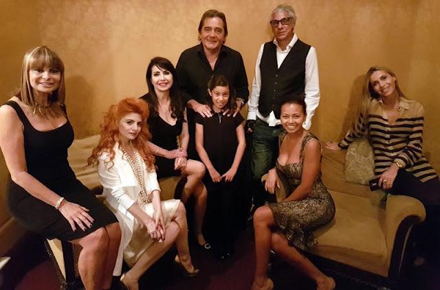 Lido González Noguera disfrutó del debut de Paloma Herrera junto a un selecto grupo de amigos