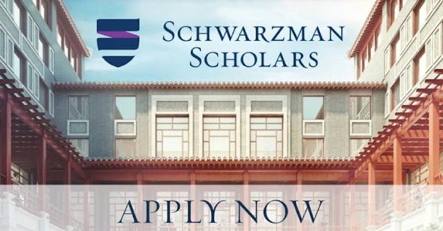 Schwarzman Scholars for Masters in Global Studies