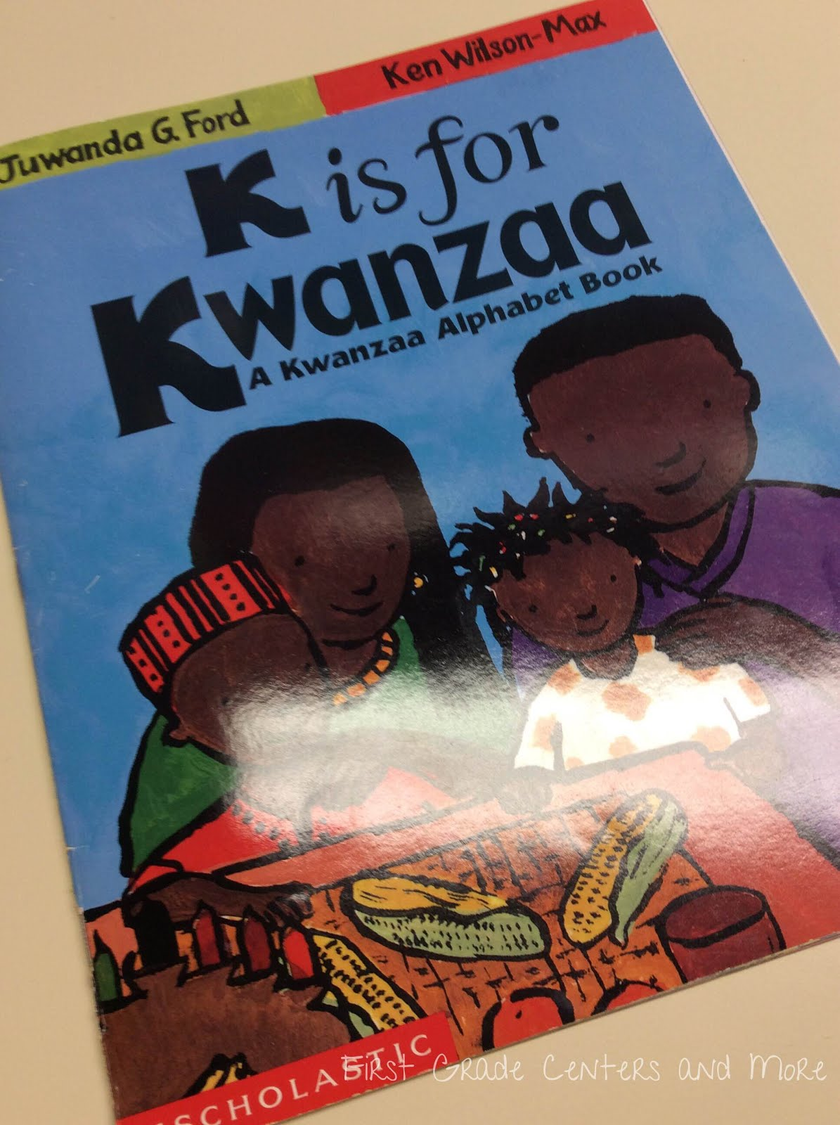 hight resolution of First Grade Centers and More: Kwanzaa