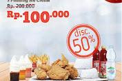 Brooaster Chicken Promo Kupon Sobek Diskon 50% Maret 2020