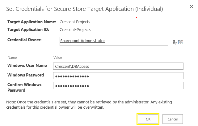 sharepoint designer secure store application id
