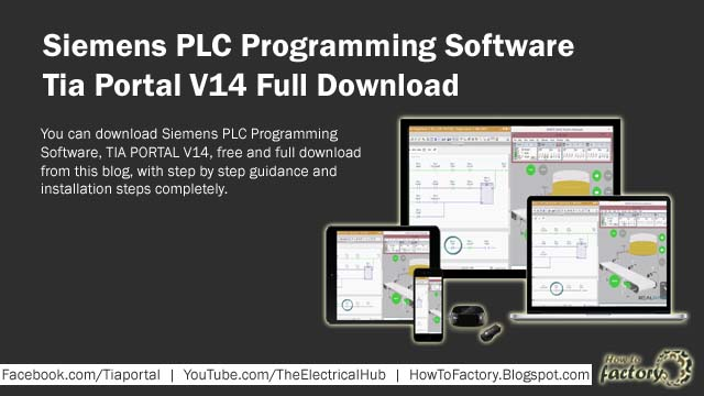 Siemens Tia Portal V14 Full Download For Siemens PLC