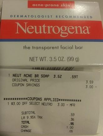 Neutrogena Facial Bar CVS Deal 811-817