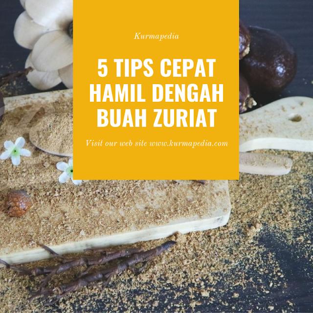 5 Tips Cepat Hamil Dengan Buah Zuriat, cara cepat hamil, buah zuriat.