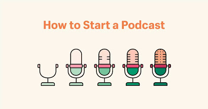 how to start podcast