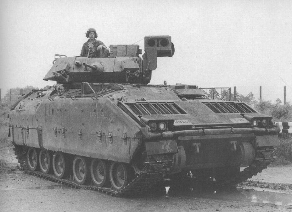 БРМ М3 зі складу 11-го БРКП. ФРН, травень 1985 року