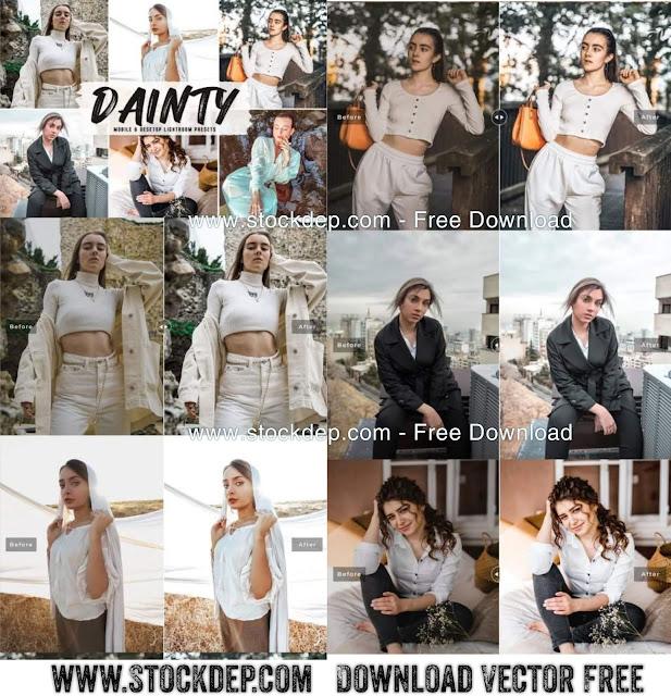 Download free Dainty Mobile & Desktop Lightroom Presets