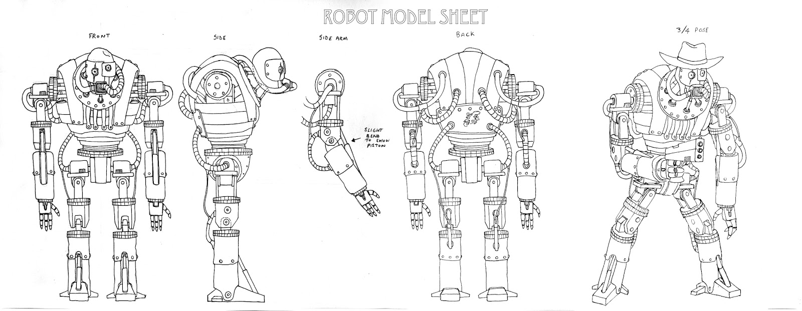 The Divided: Robot Model Sheet