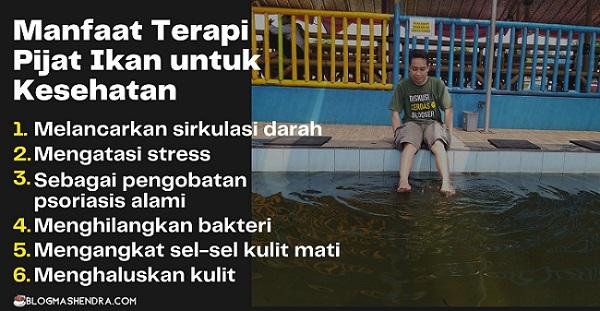 6 Manfaat Terapi Pijat Ikan