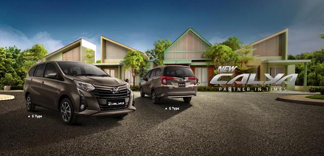 Harga Mobil Calya Palembang