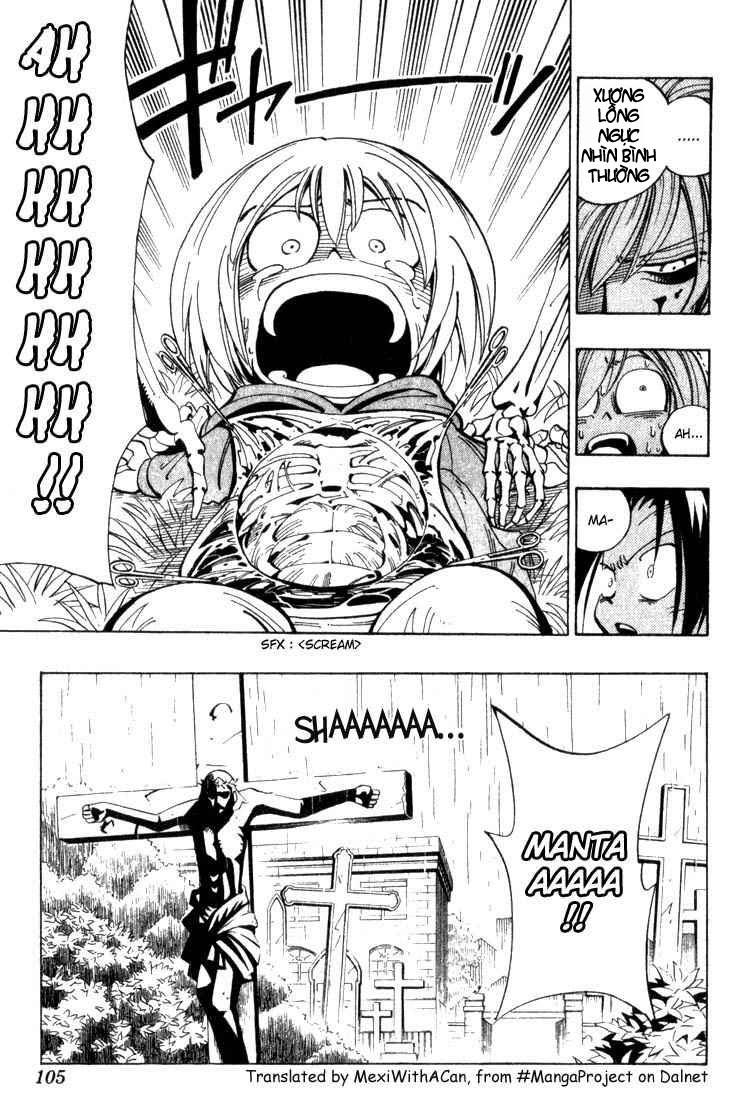 Shaman King [Vua pháp thuật] chap 40 trang 20