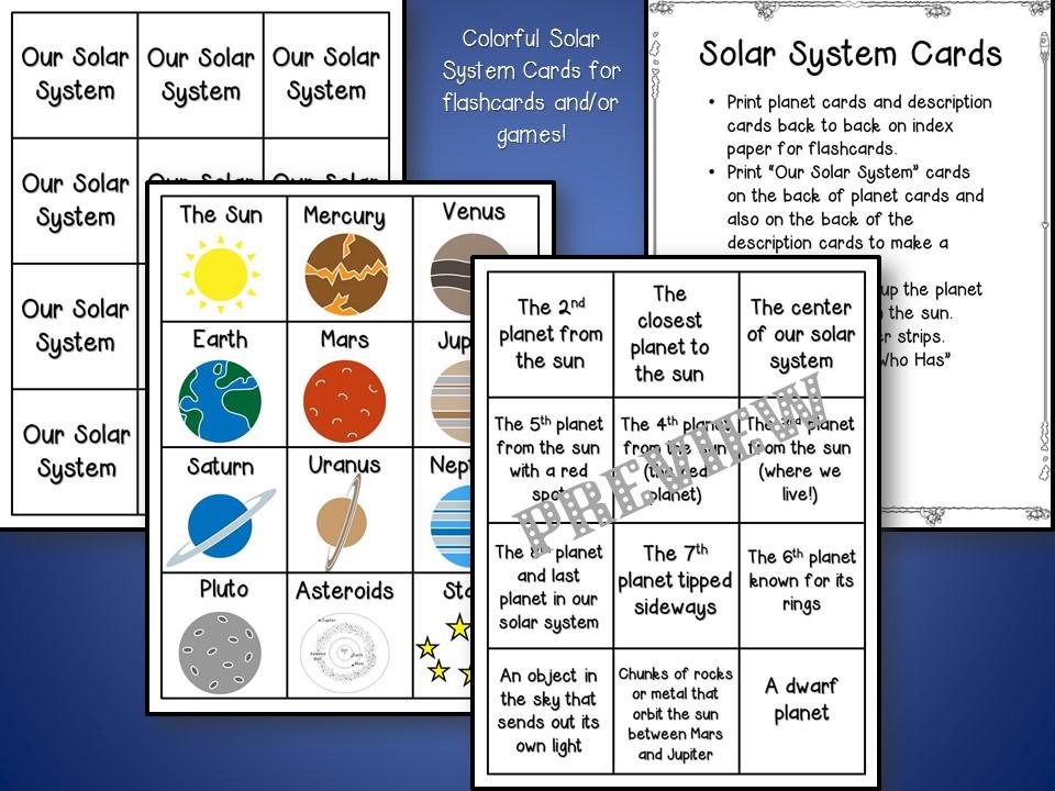 solar system grade 1 - photo #7