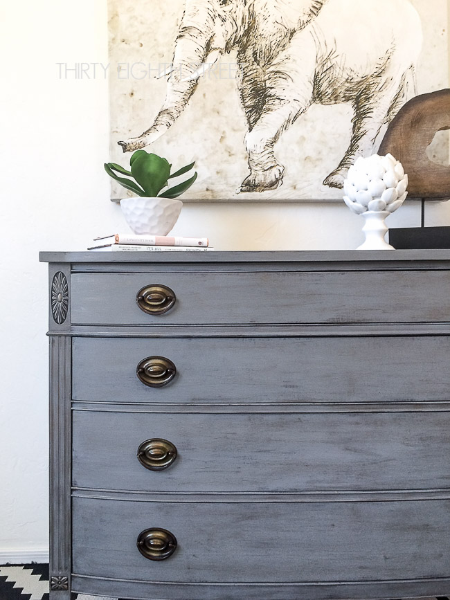 how to get a restoration hardware finish, DIY Dresser Restoration Hardware Knockoff, Pottery Barn knockoff