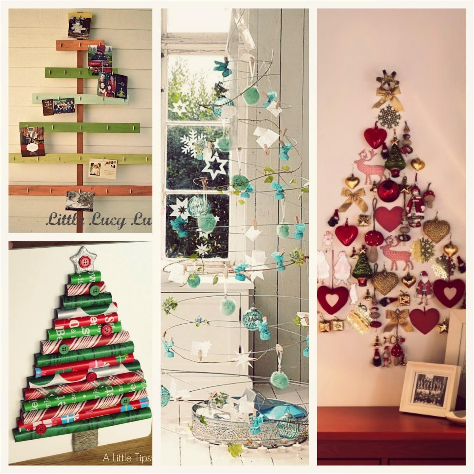 rbol de navidad hecho a mano ideas originales para decorar
