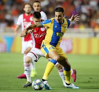 ΒΙΝΤΕΟ: ΑΠΟΕΛ 0-0 AJAX [0-0] UCL Playofss, 1st leg