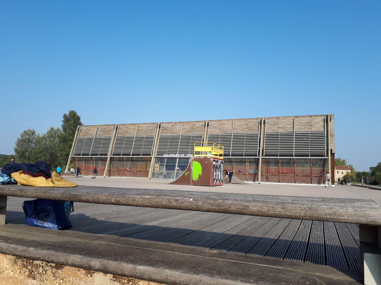 skatepark gerland extérieur Lyon