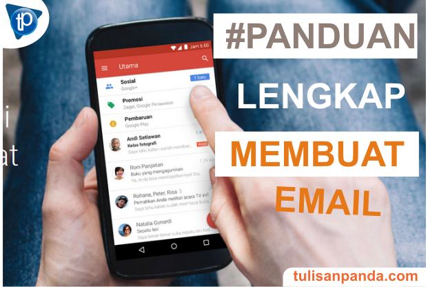 Cara membuat email gmail terbaru