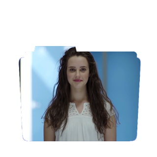 Preview of  Katherine langford, 13 reasons why, tv show, icon.