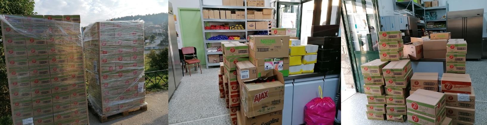 Δήμος Πωγωνίου:Μία σημαντική προσφορά σε τρόφιμα και είδη πρώτης ανάγκης…