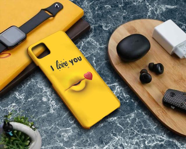 Mockup Custom Case 3D Realme C11