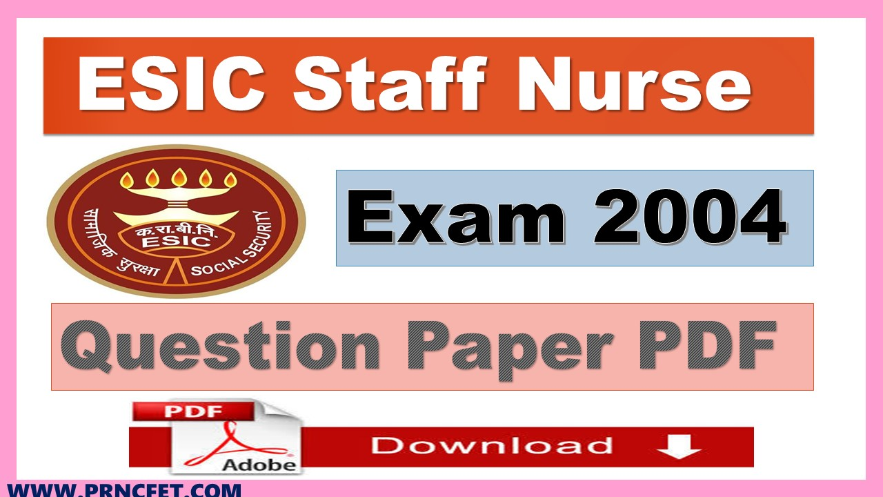 Latest Staff Nurse Recruitment |Staff Nurse Papers |Exam