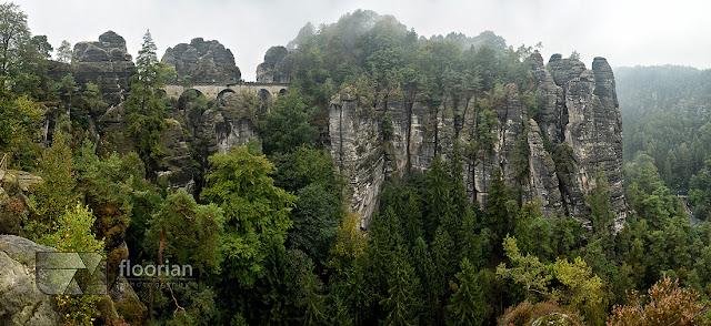 Bastei to wielki skalny most w Saksonii. Atrakcje turystyczne Szwajcarii Saksońskiej