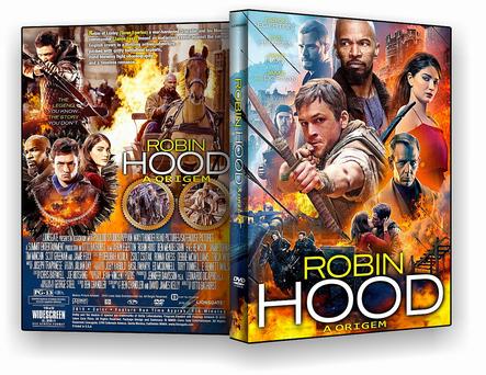 CAPA DVD – Robin Hood A origem – AUTORADO – ISO