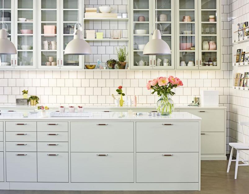 In My Style Home And Garden Przeszklone Szafki W Kuchni