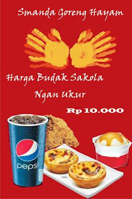 iklan makanan bahasa sunda