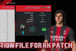 New Option File For KK Patch 2020 - PES 2017