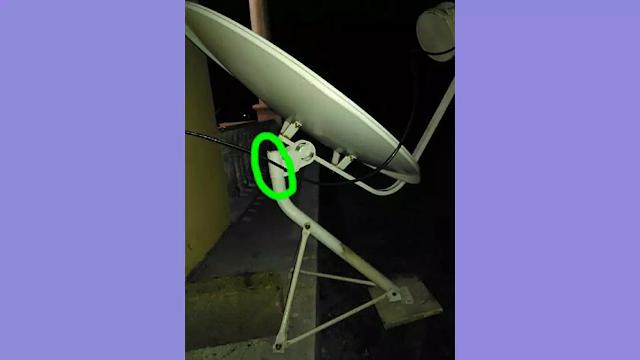 Memasang LNB untuk mengatasi kualitas sinyal 0