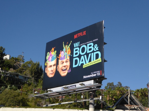 Bob David Netflix series billboard