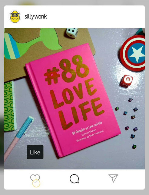 88 Love Life by Diana Rikasari Book Blogger Review