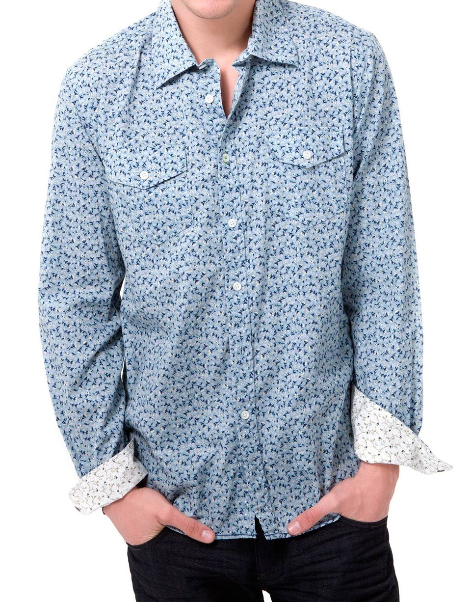 """Elsebs Style: Camisas Floreadas """"La 82"""" por Juan Carlos"""