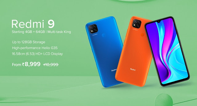 Redmi 9 Launched With 6.53inch HD+ Display, 13MP Triple Camera, 5000mAh Battery & More